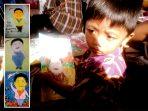 Lukisan anak Pacitan untuk SBY (Foto : Tina Try Zaiddan)